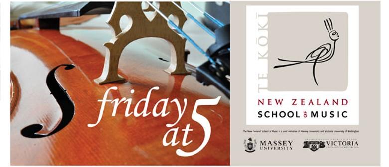 NZSM Friday at 5: Kick off with The NZSM Big Band