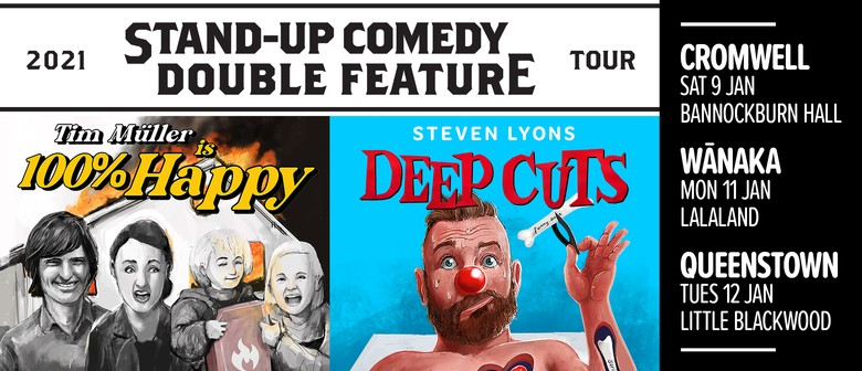 Comedy Double Feature: Steven Lyons & Tim Müller (Cromwell)