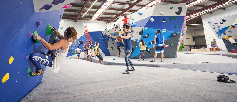 Indoor Climbing School Holiday Program