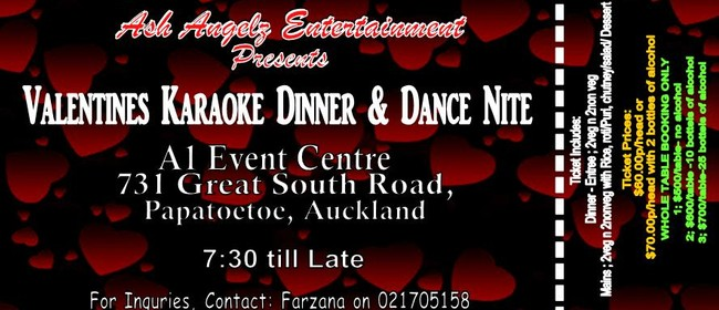 Valentines Dinner and Dance Night