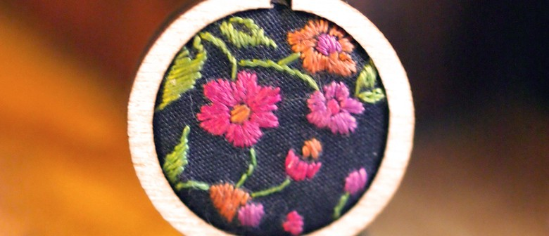 Mini Hoop Embroidery Workshops