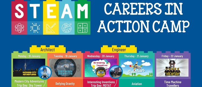 STEAM Careers in Action Jan Holiday Programme & Trips