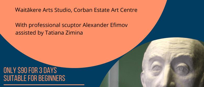 Sculpture Portraiture Workshop - 3 morning sessions