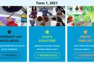 Art Classes - Term 1, 2021 - Creative Kids Art Lab