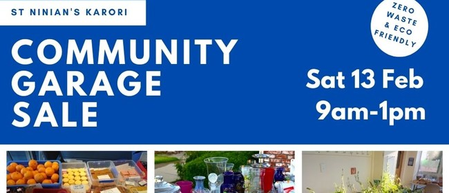 Community Garage Sale in Karori