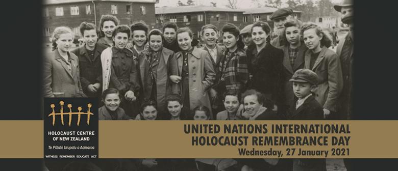 UN Holocaust Remembrance Day - Wellington Public Ceremony