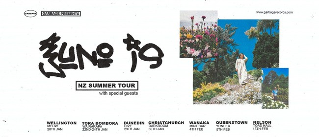 Juno Is - NZ Summer Tour