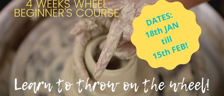 Pottery Wheel 4 Weeks Beginner's Course