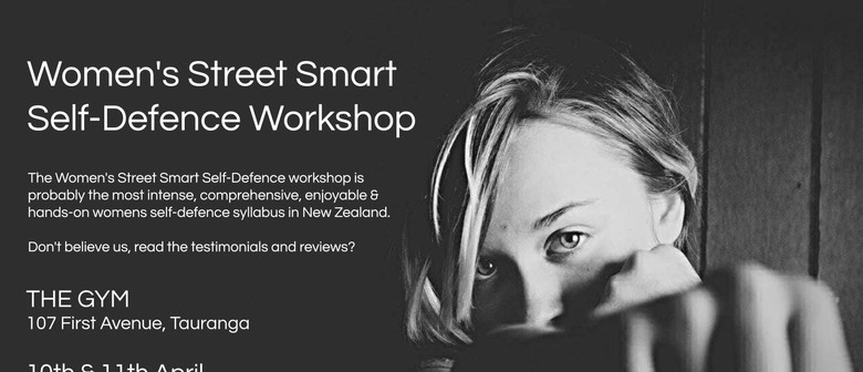 Women's Street Smart Self-Defence Tauranga April 2021