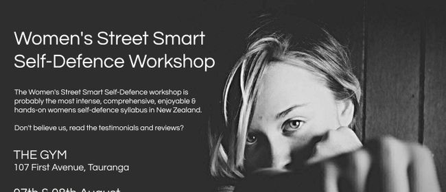 Women's Street Smart Self-Defence Tauranga August 2021