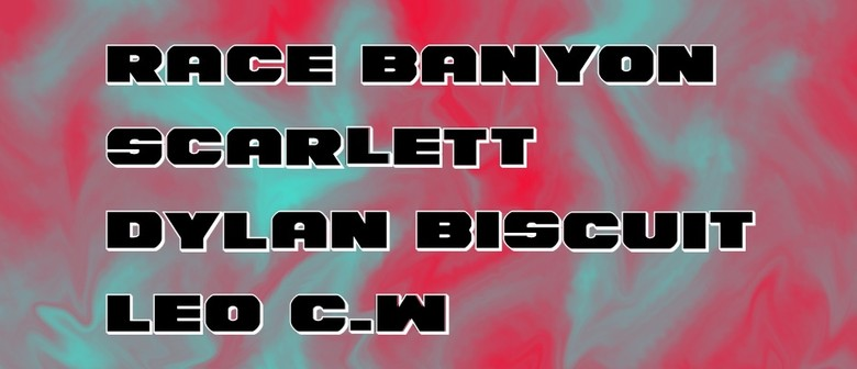 Race Banyon, Scarlett, Dylan Biscuit and Leo CW