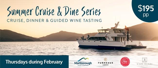 Summer Cruise & Dine Series - Furneaux Lodge & Clos Henri