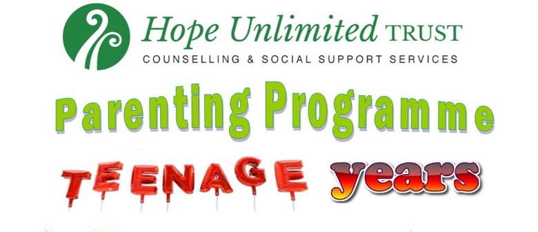 Parenting Programme - Teenage Years