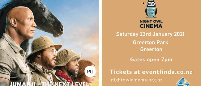 Night Owl Cinema - Jumanji - The Next Level: CANCELLED