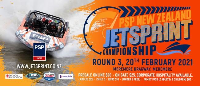 Round 3, 2021 PSP New Zealand Jetsprint Championship