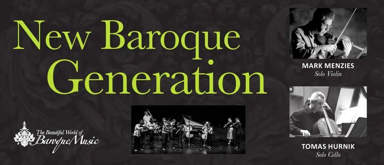 New Baroque Generation Concert