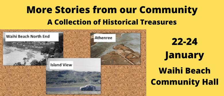 Waihi Beach Historical Society Exhibition