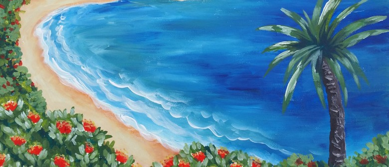 Paint and Wine Night - Blue Bay - Paintvine
