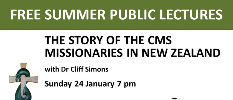 The story of the early CMS missionaries in New Zealand