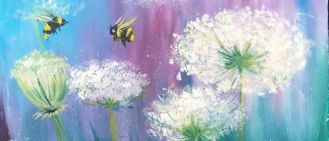 Paint & Chill Saturday Night - Summer Bees!