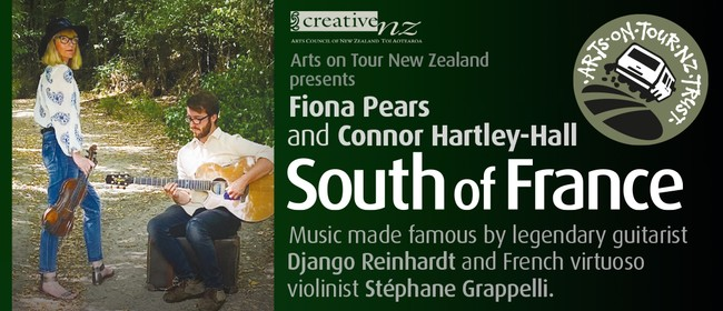 Gypsy Jazz Duo - Fiona Pears and Connor Hartley-Hall
