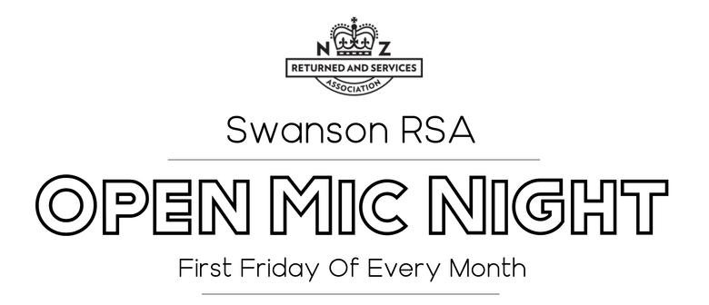 Swanson RSA Open Mic