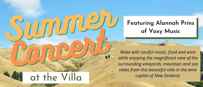 Summer Concert at the Villa
