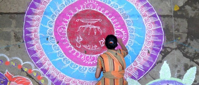 Rangoli at the Mount