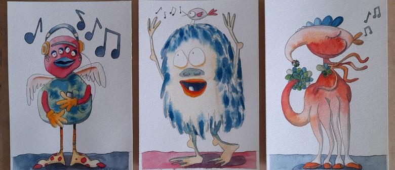 'Creative Creatures' Children's Watercolour Workshop