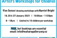School Holiday Art Workshops with Artist Harriet Bright