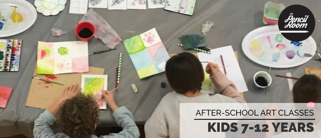 After-School Art Classes 7-12 Years