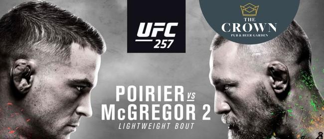 McGregor V Poirier UFC 257