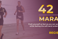 The 42 km Marathon