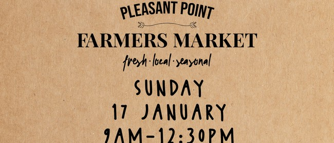 Pleasant Point Farmers Market