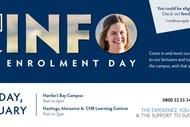Info & Enrolment Day