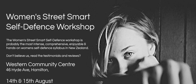 Women's Street Smart Self-Defence Hamilton August 2021