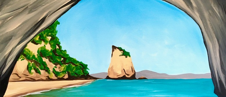 Paint and Wine Night - Cathedral Cove: CANCELLED