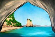 Paint and Wine Night - Cathedral Cove