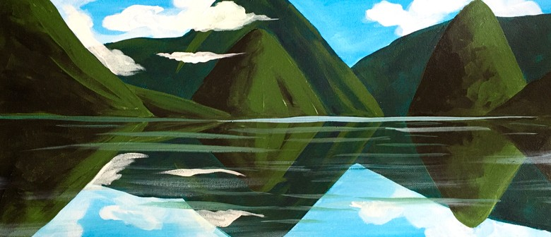 Paint & Wine Afternoon - Milford Sound