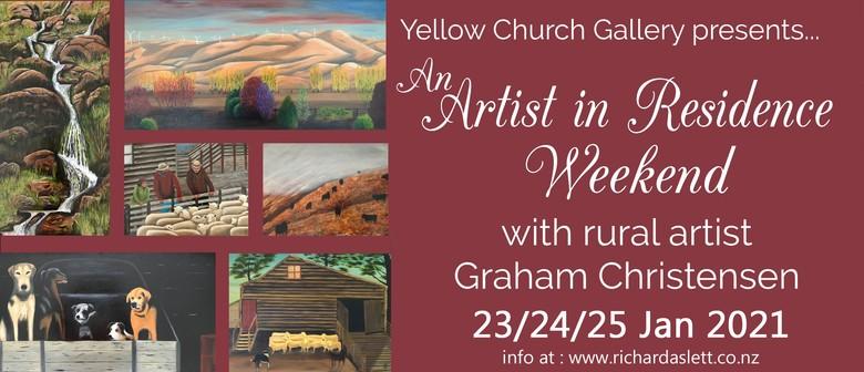 Graham Christensen - Artist in Residence Weekend