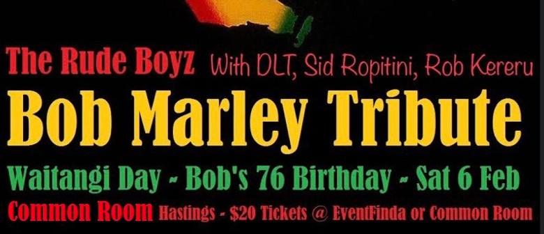 Bob Marley Tribute - Common Room Hastings