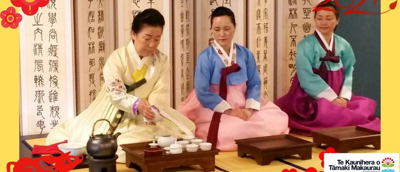 Lunar New Year of The Ox - Traditional Korean Tea Ceremony