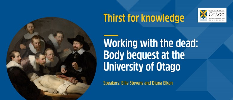 Thirst for Knowledge - Working with the Dead