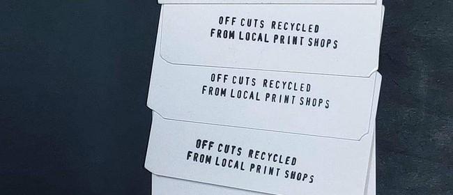 Hangarua Workshops: Recycled Business Card Workshop