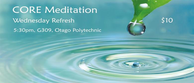 Wednesday Refresh (Meditation classes)