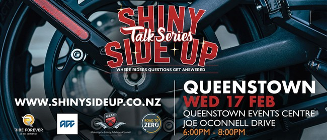 Shiny Side Up Talk Series - Queenstown
