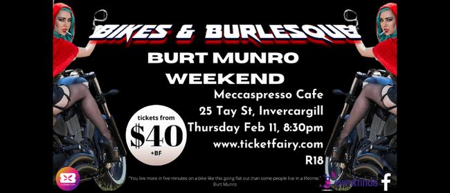 Bikes & Burlesque - Burt Munro Weekend