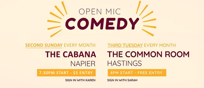 Hawkes Bay Comedy Open Mic