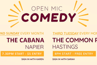 Hawkes Bay Comedy Open Mic