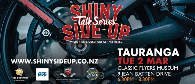 Shiny Side Up Talk Series: CANCELLED